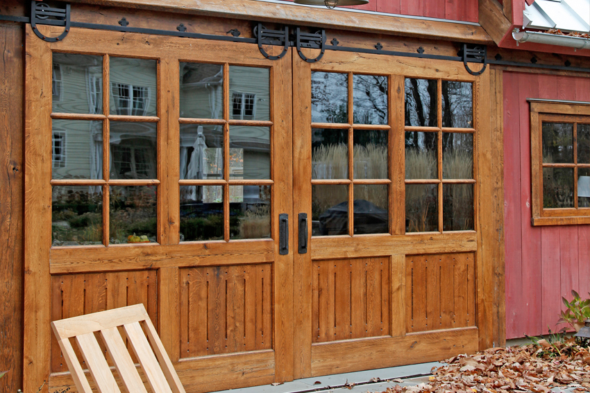 Custom made barn doors gallery vintage homes and millwork for Custom made doors